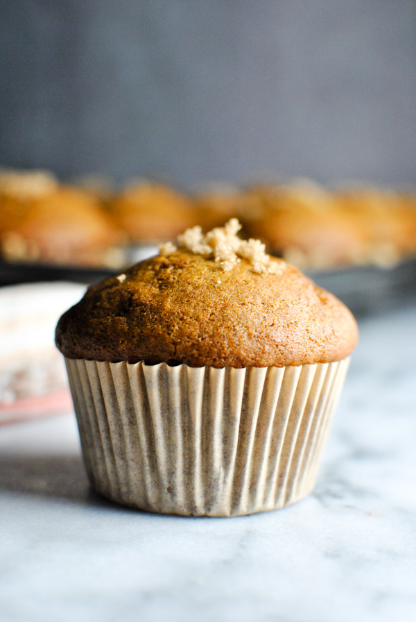 these pumpkin muffins are perfect for the start of fall! The recipe is super simple and they come out perfectly cakey & delicious. it just doesn't get better than that.   thepikeplacekitchen.com