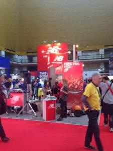 New Balance Booth at Maratona di Roma Expo