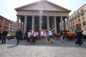 The Roman Guy Pantheon Maratona di roma shakeout run