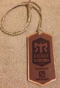 Ragnar Trail Zion Medal 2014