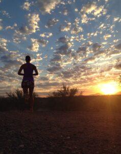 Sunrise, Phoenix, Arizona, Trail Run