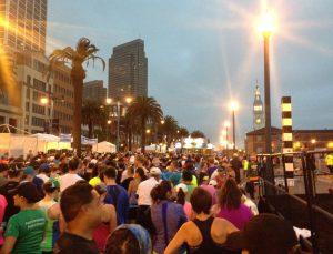 San Francisco Marathon, 1st Half Marthon, July 27 2014