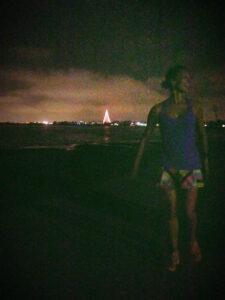 Mission Bay, San Diego, California, Night Run