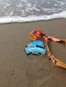 2104, Ventura Marathon, Half Marathon, Medal, Ventura Beach, California