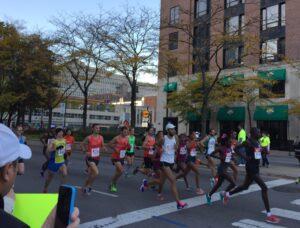 Elite Women, Runners, Chicago Marathon, 2014