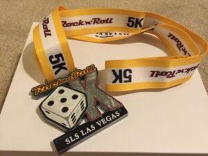 RnR Las Vegas, 5K Medal