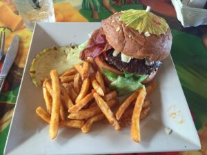 Cheeseburger in paradise, burger of the month