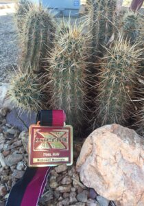 xterra, mcdowell mountain, trail race, 15 mile, medal