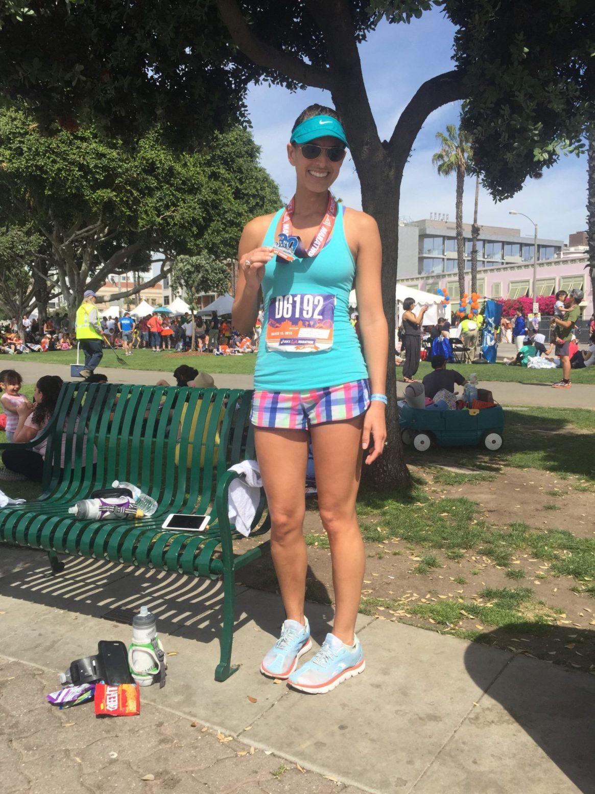LA Marathon, Los Angeles, California, Marathon, 30th anniversary, lululemon, altra running, medal