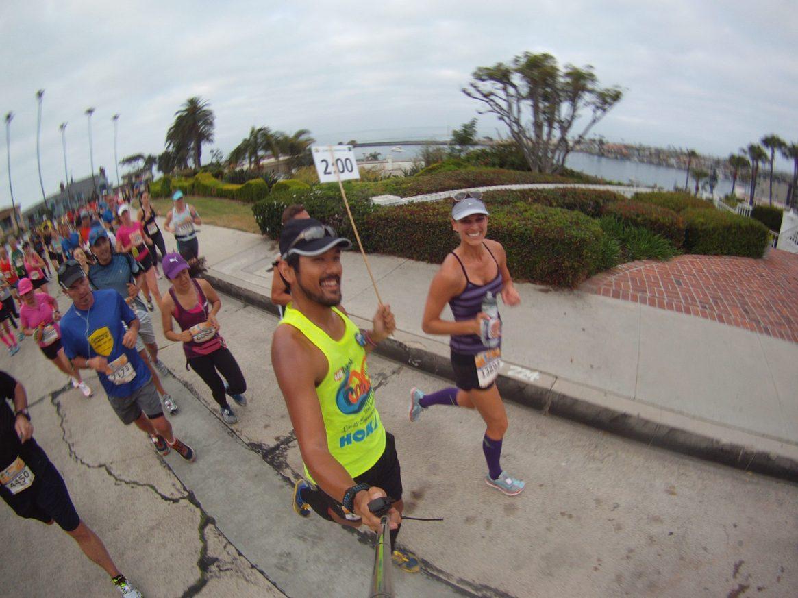 OC Marathon, 2 hour pace group, half marathon, instafriends