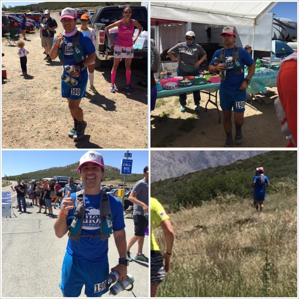 SD100, ultra race, Sunrise aid station, running skirts, san diego