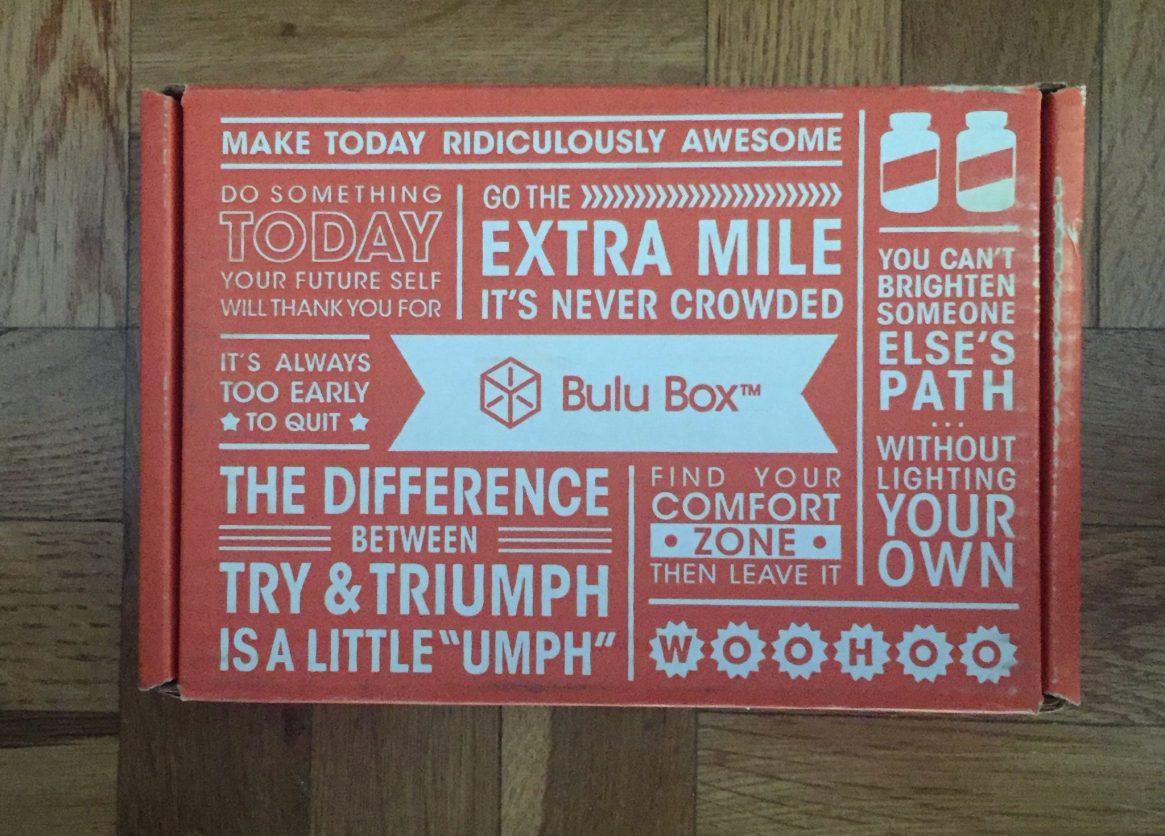 Bulu Box, Sweat Pink, Fitapproach, subscription box