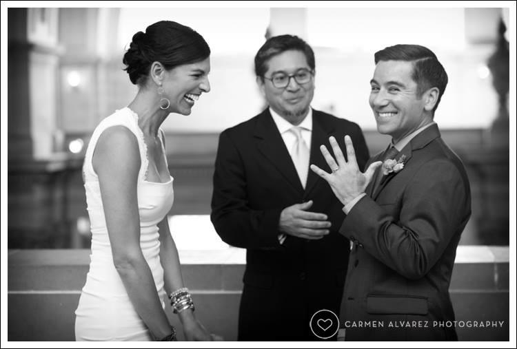SF city Hall, San Francisco, SF Wedding, Carmen Alvarez Photography