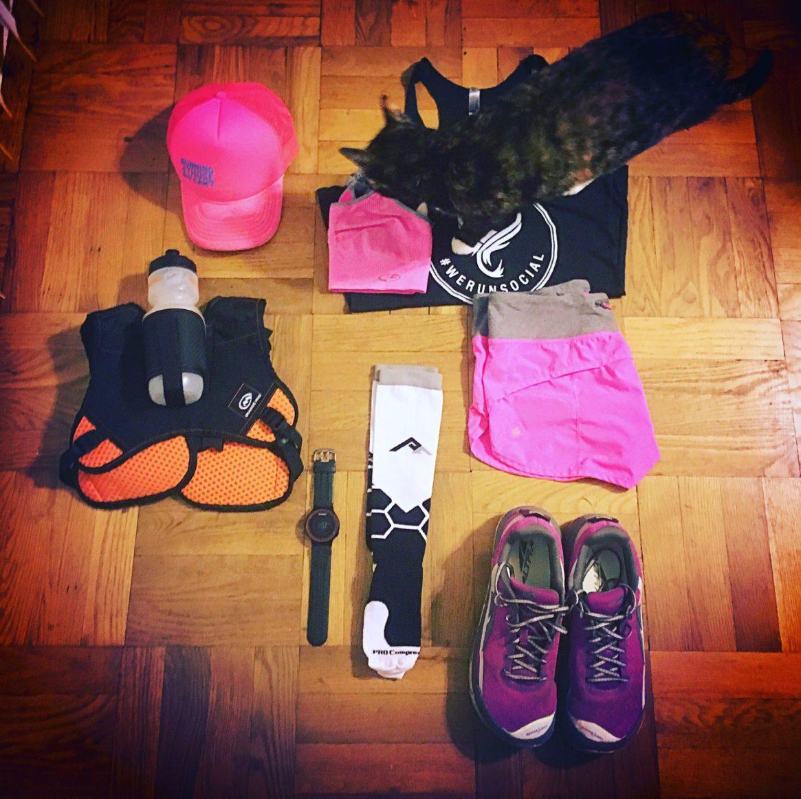 SD 50, trail marathon, flat jenny, altra running,orange mud, we run social, procompression, lululemon