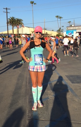 La Jolla, Half Marathon, start line