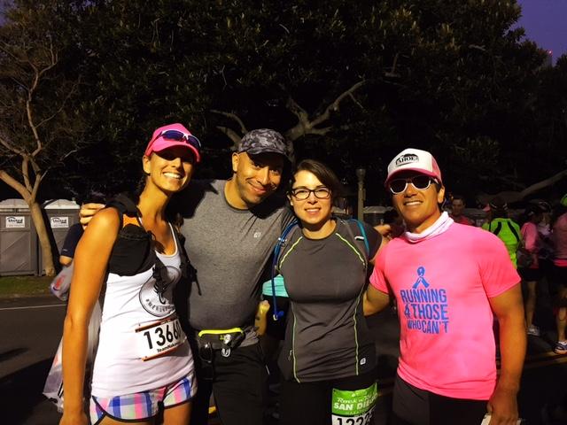 Trainees, Start Line, San Diego Rock n Roll, RNRSD, Half Marathon, Marathon