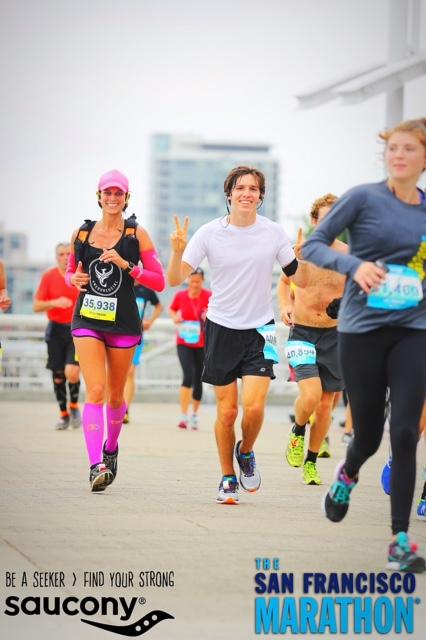 The SF Marathon, Running4thosewhocan't, Orange Mud, XX2i, Lululemon, We Run Social, ProCompression, San Francisco