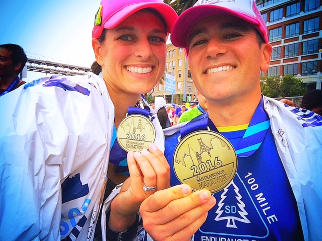The SF Marathon, Running4thosewhocan't, San Francisco, his & hers