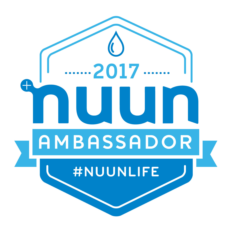 nuun ambassador 2017 logo