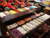 Candy at the market. SO MUCH CANDY.