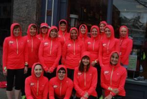 2013 Running Clinic ladies!