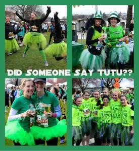 Tons of Tutus at the 2013 Shamrock Run Photos by Waz-Mix Pix