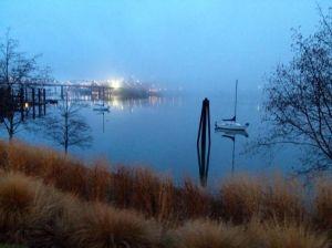 Another beautiful scene along the waterfront.   Photo credit:  Amanda Ulrich