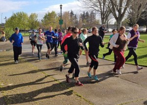 Runners taking off at the 2013 Great Escape event. - Photo by Harold Wood
