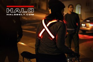 Running, Cycling, or just for visibility's sake. Halo Belt 2.0 does it all!