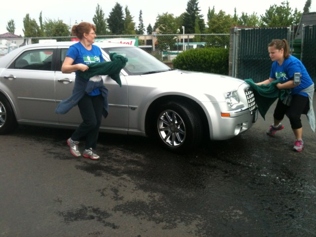 Car Wash Challenge at Get A Clue 2013