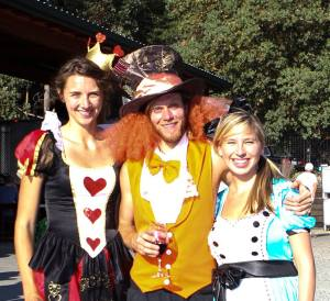 Costumed Runners at the Enchanted Forest Wine Run (Long Run Photos)