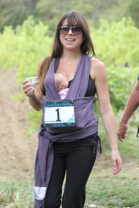 A new mom enjoyes her first 5K (Long Run Photos)