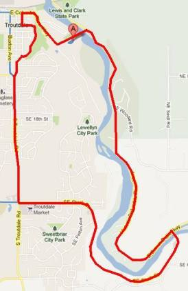 troutdale-trot-map