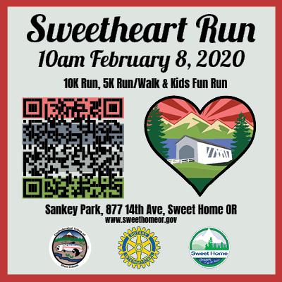 Sweetheart Run 2020 Ad