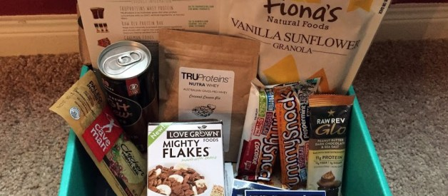 October 2015 Fit Snack Review: Portable Snacking in a Box