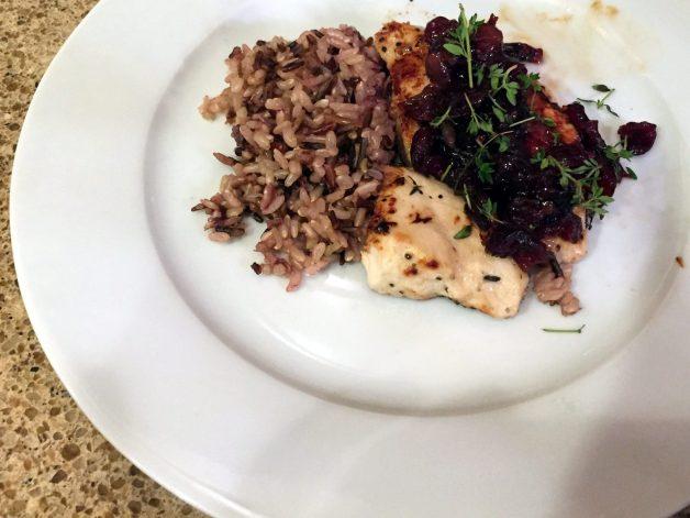 Cranberry Glazed Chicken Recipe
