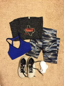 Outfit for my first CrossFit competition