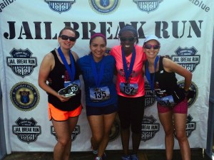 MRTT represents at the Jailbreak Half Marathon.