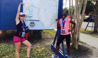 Jailbreak Half Marathon Course Map