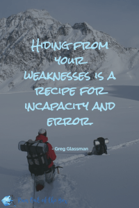 """Hiding from your weaknesses is a recipe for incapacity and error"" - Greg Glassman. More inspirational #CrossFit and #fitness quotes here!"