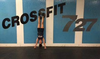 CrossFit 727 handstand