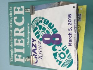 Buying running bibs is wrong. Register early instead.