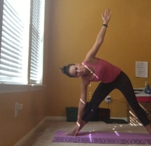 Triangle - yoga poses for runners