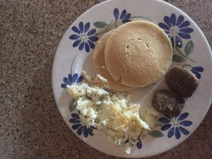 marathon training week 9: pancakes