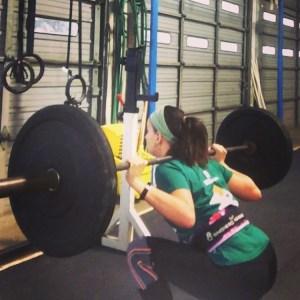 marathon training week 11 squats