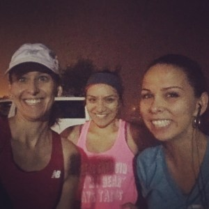 Marathon training week 13: team awesome