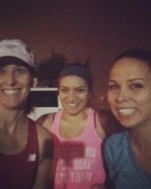 Marathon training week 13: team awesome