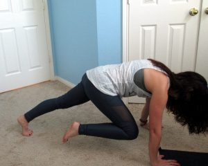 Bodyweight moves: Mountain climber