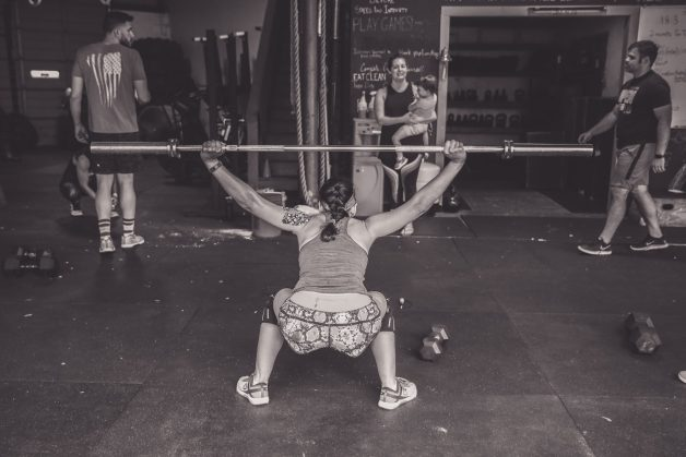 CrossFit Open 18.3 WOD: Overhead squats