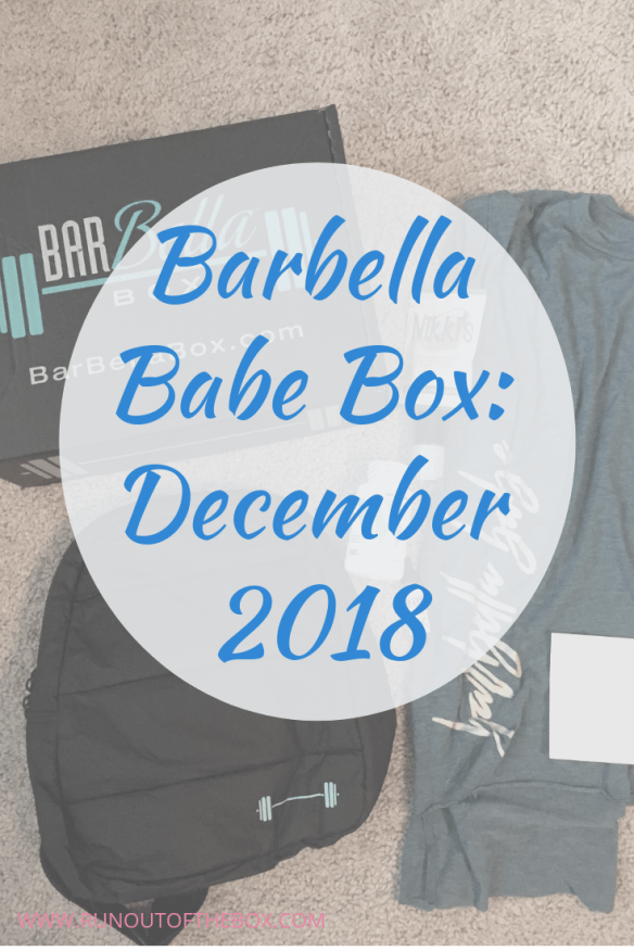 b2388b6af0e1d Read this Barbella Babe Box review (the December 2018 Barbella Box) all the  way